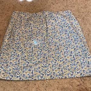Dresses & Skirts - 💄floral mini skirt. REPOSH